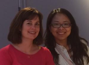 Ellen and Pei-Ling